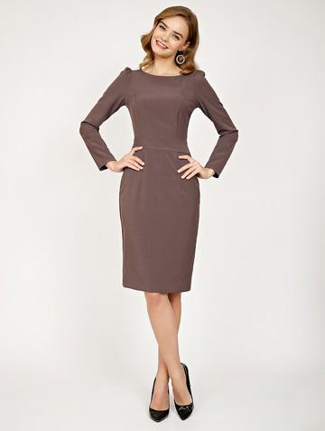 Платье flurry, цвет лилово-кофейный