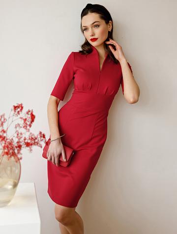 Платье flippy, цвет красный