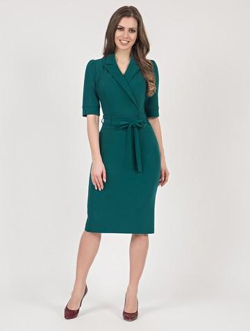 Платье neolina, цвет темно-зеленый