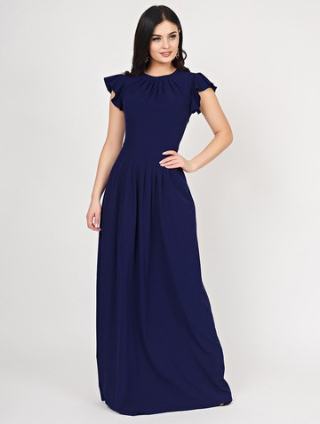 Платье shony, цвет чернильный