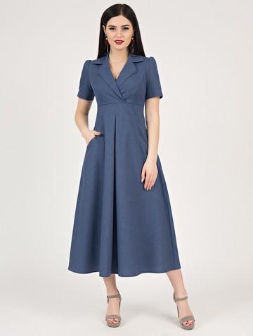 Платье lourdes, цвет индиго