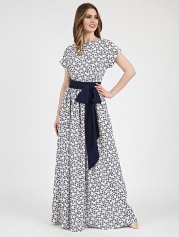 Платье tayva, цвет молочно-синий