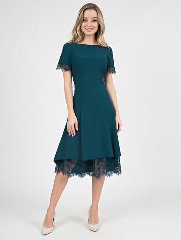 Платье melitta, цвет бирюзово-зеленый