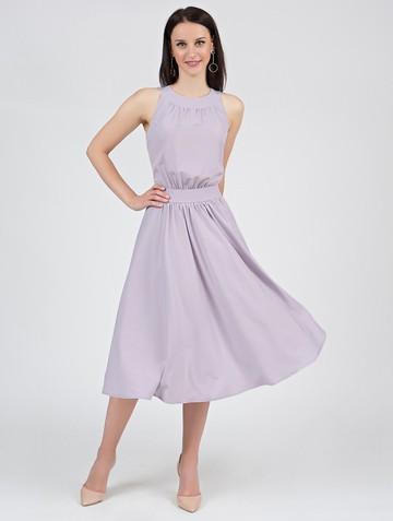 Платье taura, цвет серо-розовый