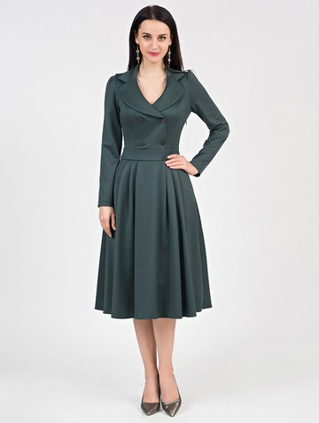 Платье anissa, цвет зеленый