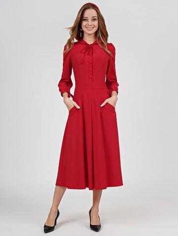 Платье alana, цвет красный