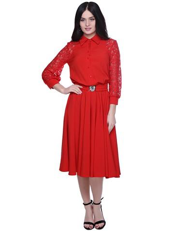 Платье rikky, цвет красный