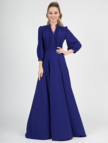Платье miroslava, цвет ультрамарин