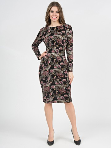 Платье parisa, цвет черный