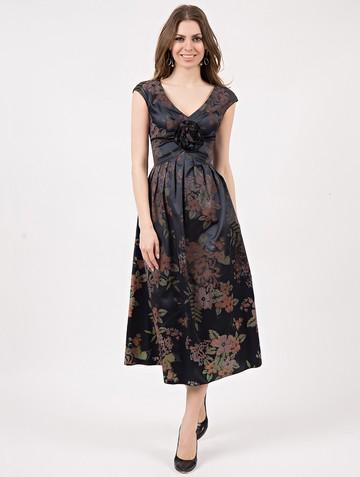 Платье sirena, цвет антрацитовый