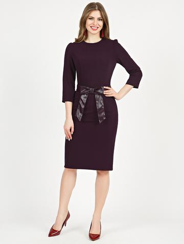 Платье aderia, цвет темно-сливовый