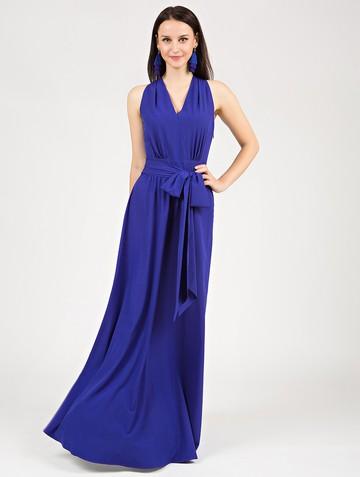 Платье helmy, цвет ультрамарин