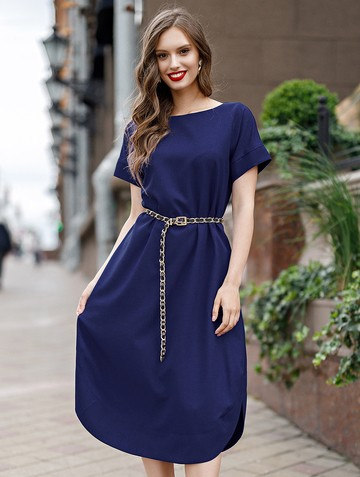 Платье kippy, цвет чернильный