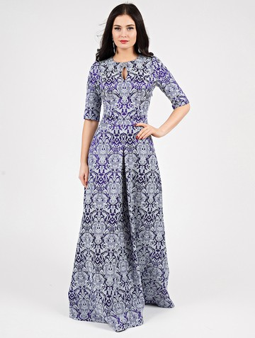 Платье peretta, цвет сине-голубой