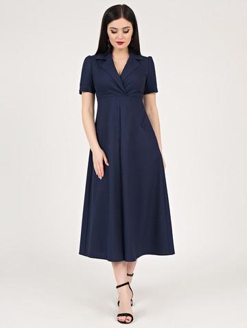 Платье lourdes, цвет темно-синий