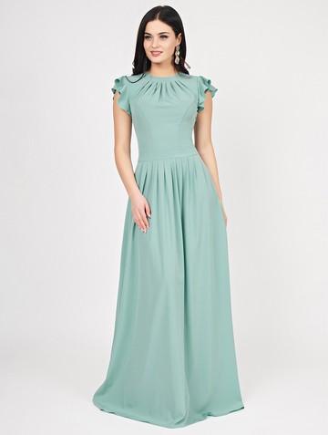 Платье shony, цвет серо-зеленый