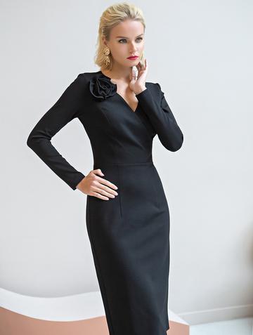 Платье sivera, цвет черный