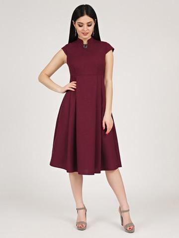 Платье maru, цвет сливовый