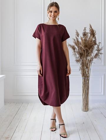 Платье kippy, цвет бордовый