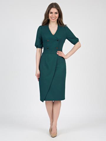 Платье teofania, цвет малахитовый