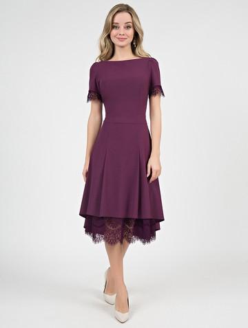 Платье melitta, цвет лилово-бордовый