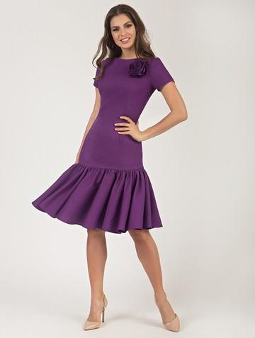 Платье vayolet, цвет фиолетовый