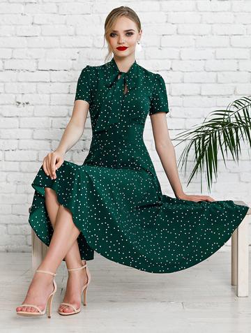 Платье donaldina, цвет темно-зеленый