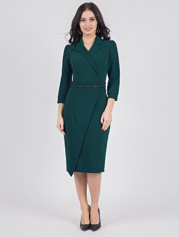 Платье rozanna, цвет темно-зеленый