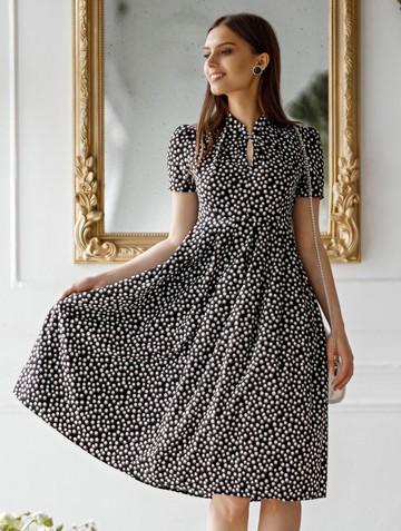 Платье irna, цвет черный