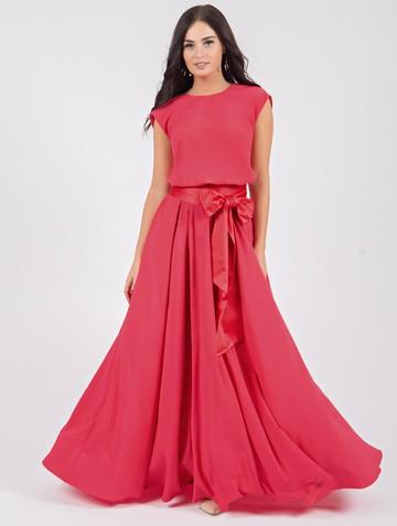 Платье iolly, цвет насыщенно-розовый