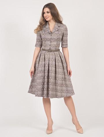 Платье milty, цвет латте