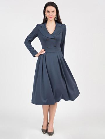 Платье anissa, цвет индиго