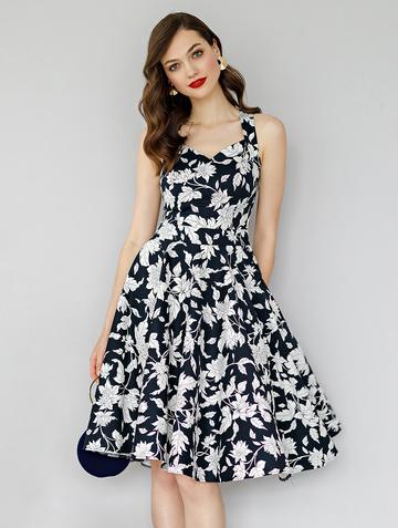 Платье adella, цвет темно-синий