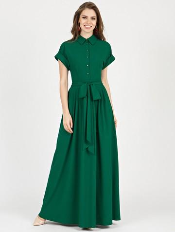 Платье rikarda, цвет изумрудный