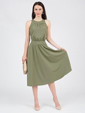 Платье taura, цвет хаки