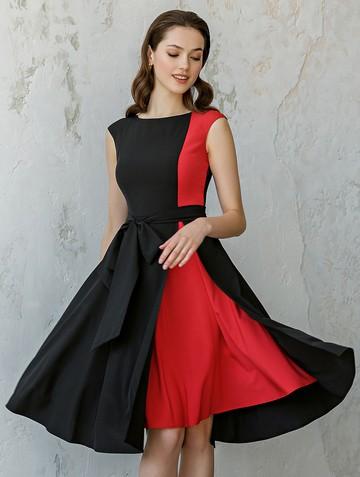 Платье rashy, цвет черно-красный