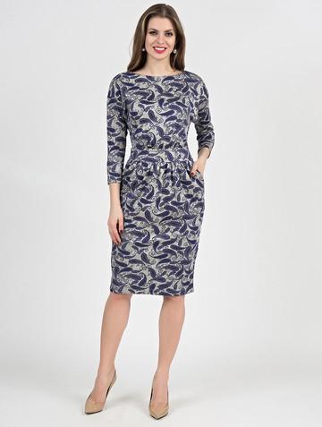 Платье dilara, цвет лазурно-серый